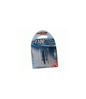 Acumulatori Ansmann R3 de 1100 mAh ambalati cate 2