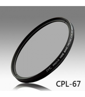 Filtru polarizare circulara JYC PRO-1D Super Slim MC 67mm