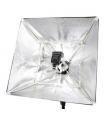 Softbox pliabil Falcon Eyes FASB-6060 60x60 cm pentru bliz pe patina