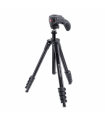Manfrotto Action Black - trepied cu cap foto-video hibrid