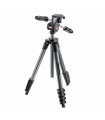 Manfrotto Compact Advanced - trepied foto-video negru cap 3-Way