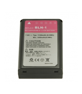 Power3000 PL839E.Acumulator replace tip BLN-1 pt Olympus 1120mAh