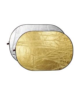 Dynaphos blenda 2in1, Silver/Gold, 91x122cm