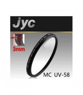 Filtru UV JYC PRO1-D Super Slim Wide Band MC 58mm