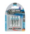 Acumulatori Ansmann R3 de 1100 mAh ambalati cate 4