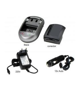 Incarcator pentru acumulatori Li-Ion tip CGA-S303 , VW-VBE10 pentru aparate foto digitale Panasonic.( cod AVP303).