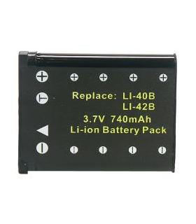 Power3000 PL140B.353 - acumulator tip NP-80DCA pentru Casio, 740mAh.