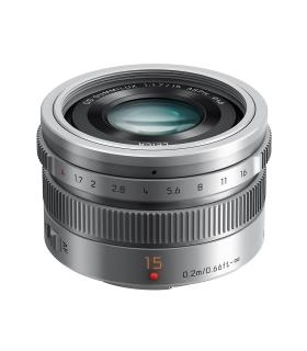 Panasonic 15mm F1.7 Leica DG Obiectiv MFT argintiu