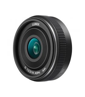 Panasonic 14mm F2.5 II Lumix G Obiectiv MFT negru