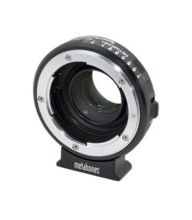 Metabones Nikon G-BMPCC Speed Booster - adaptor de la Nikon G la Micro 4/3 Blackmagic