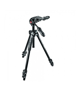 Manfrotto Light MK290LTA3-3W - kit trepied foto cu cap 3-way