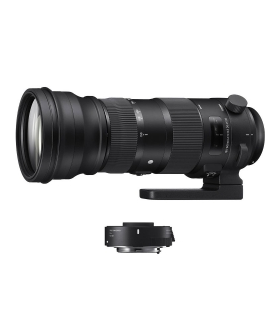 Sigma 150-600mm F/5-6.3 OS Nikon [S] kit Sigma TC-1401 1.4x