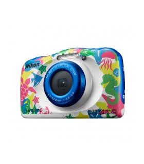Nikon Coolpix W100 Aparat Foto Compact Subacvatic 13.2MP Kit cu Rucsac Tema Marina