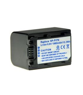 Power3000 PL601D.142 - acumulator replace tip NP-FV70 pt Sony