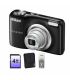 Nikon Coolpix A10 Black + card4 Gb + husa + incarcator