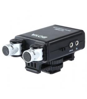 Microfon Stereo pentru DSLR Boya BY-SM80