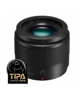Panasonic 25mm F1.7 Lumix G Obiectiv Foto Mirrorless MFT Negru [white box]