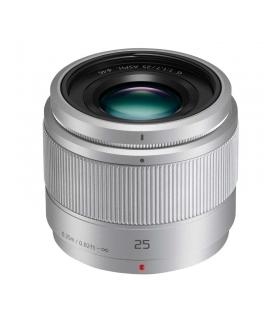 Panasonic 25mm F1.7 Lumix G Obiectiv MFT Argintiu - Panasonic 25mm F1.7 Lumix G Obiectiv MFT argintiu