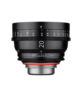 Samyang XEEN 20mm T1.9 FF CINE - montura Canon, negru