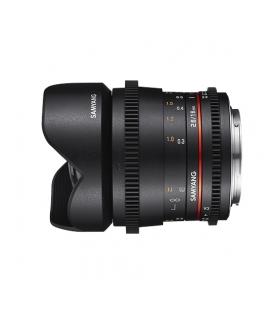 Samyang VDSLR 16mm T2.6 ED AS UMC - Montura Canon, negru