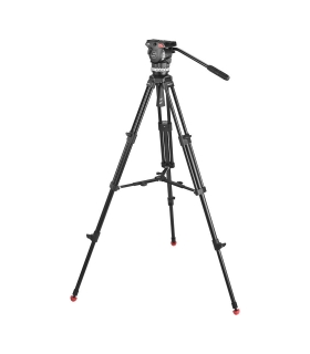 Sachtler System Ace M MS - Trepied Ace 75/2 D + spreader mijloc + cap fluid Ace M