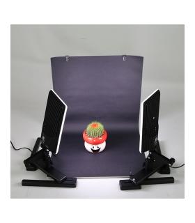 NanGuang CN-T96 KIT - Kit 2 lampi + fundal pliabil