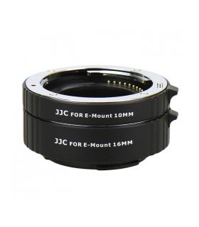 JJC AET-NEXS - Set tuburi extensie pentru Sony NEX cu montura E (10mm, 16mm)