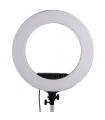 Lampa circulara cu led reglebila StudioKing 480ASK
