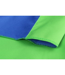 Fundal de panza 2,7x5m albastru/verde Studioking