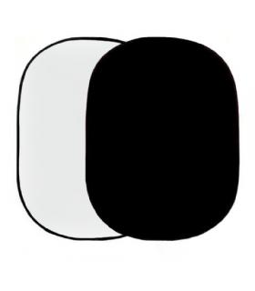 Panou fundal alb/negru 148x200 cm R-1482WB Falcon Eyes