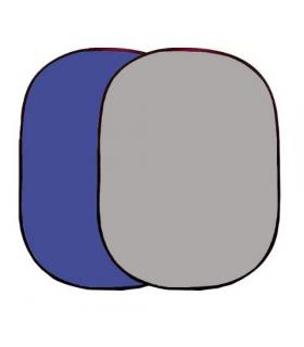 Panou pentru fundal Falcon Eyes BCP-07-03 Albastru/Gri 148x200 cm