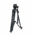 Trepied video profesional Fancier FT6717 + cap fluid Ei-717