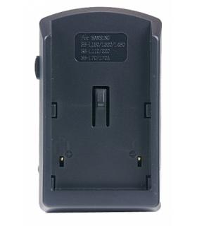Incarcator compact pentru acumulatori Li-Ion tip SB-L110/L70/70A,/ SB-LS110, /SB-L220 pentru camere video Samsung.(Cod ACMP16).
