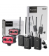 Saramonic Duo Microphone Kit Wireless SR-WM4C with Audiomixer AX100