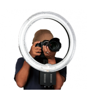 Lampa circulara Falcon Eyes FLC-65 65W + TMB-20Z