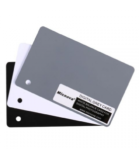 Grey Card Micnova MQ-DGC-M (negru, alb si gri)