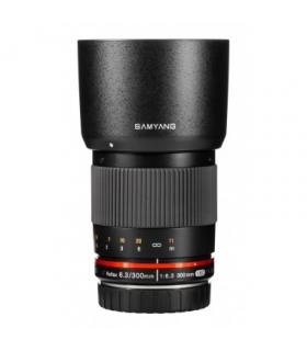 Samyang Reflex f6.3 300mm ED UMC CS pentru Olympus M 4/3 Silver