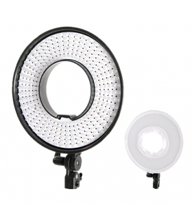 Lampa de lumină tip inel Falcon Eyes LED DVR-300DVC de 230V