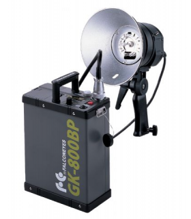 Blitz Falcon Eyes 800 Ws TE-800FH + Baterie GK-800BP + Geantă