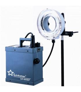 Linkstar Battery Pack DP-600BP + Ringflash RDH-600 600Ws