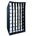 Linkstar Foldable Softbox + Honeycomb QSSX-6090HC 60x90 cm