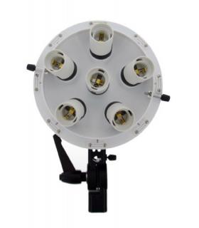 Lampă lumină continuă Falcon Eyes + Softbox 60x60cm LHD-B628FS 6x28W