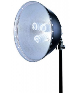 Linkstar Daylight Lamp FLS-40N3 3x28W + Reflector 40 cm