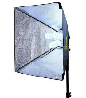 Lampa lumina continua Linkstar FLS-3280SB6060 3x28W Softbox 60x60 cm