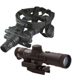 Luna Optics LN-EBG1 Night Vision Device with Head System and IR Illuminator