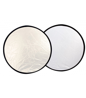 Falcon Eyes Reflector CFR-32S Silver/White 82 cm