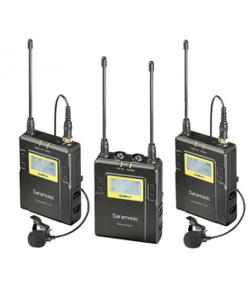 Kit lavaliera Saramonic UwMic9 TX9 + TX9 + RX9 UHF Wireless