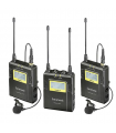 Kit lavaliera Saramonic UwMic9 TX9 + TX9 + RX9 UHF Wireless