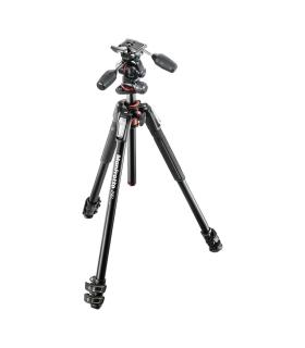 Manfrotto MK190XPRO3-3W kit trepied foto + cap 3-way
