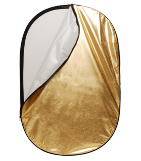 Blenda Reflectoare Linkstar  2 in 1 Silver/White 90x120 cm